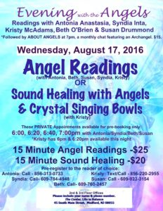 Evening with Angels August w Beth